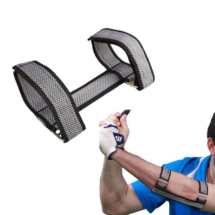 Golf Swing training Aid. Improve your stroke, Posture, and Swinging Straight Arm Stroke. When many golf beginners learn to swing, they often can not handle the left arm well, their left arm often Curv