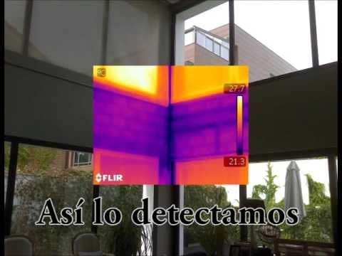 Detectando puentes térmicos