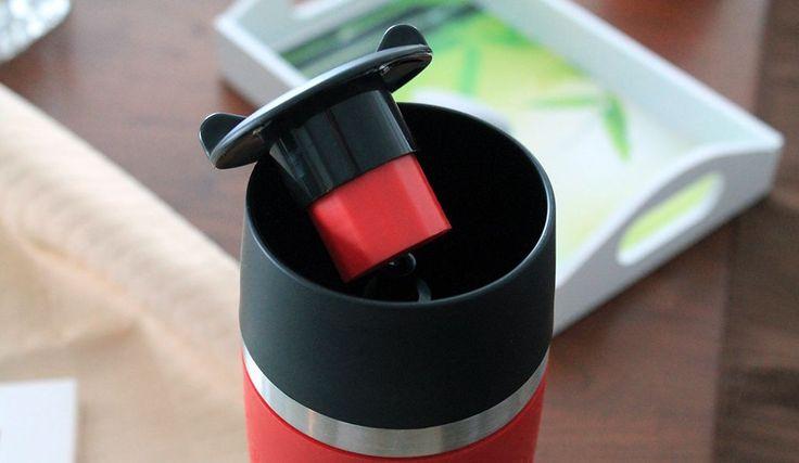 Der emsa Travel Mug lässt sich auch sehr gut reinigen :) Der Deckel und gleichzeitig 360° Ausguss lässt sich demontieren und so kann man auch das Ausgusssystem problemlos reinigen. Toll ! - https://emsa.springup.io/?view=social&type=reply&id=60787