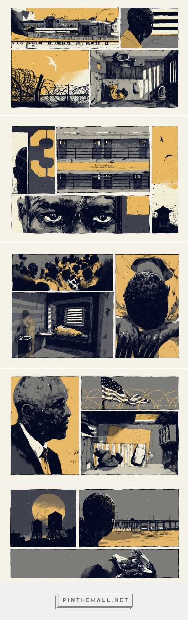 EDITORIALS 6 on Behance... - a grouped images picture - Pin Them All