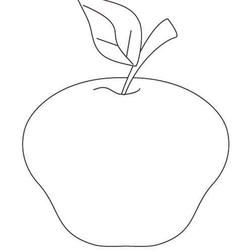 Manzana Con Imagenes Manualidades Ninos 2 Anos Dibujos Para