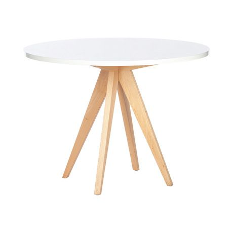 The white Grasshopper Table is a singular piece- at once architectural and fun, with great, splayed lines and a serious penchant for hard work. The Grasshopper makes a great kitchen or breakfast table,...  Find the Grasshopper Table, as seen in the President's Day Weekend Sale: Furniture Collection at http://dotandbo.com/collections/presidents-day-weekend-sale-2016-furniture?utm_source=pinterest&utm_medium=organic&db_sku=DBI1536-WHT