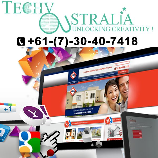 best website development Techy Australia +61-(7)-30-40-7418