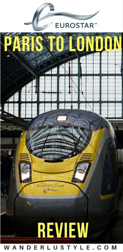 Eurostar Review: Paris to London Transportation - Europe Transportation | Wanderlustyle.com