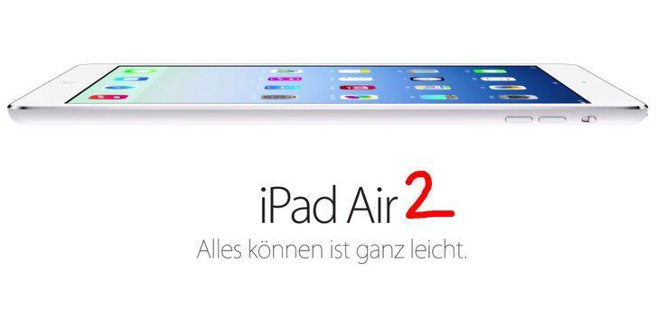 iPad Air 2: Apple A8, bessere Kamera, mehr Akku - http://apfeleimer.de/2014/06/ipad-air-2-apple-a8-bessere-kamera-mehr-akku - Das neue iPad Air 2sollweiterhin die gleiche Designsprachewie dasApple iPad Air sprechen. Äußerlich dürfte also beim neuen iPad Air 2 kaum eine Änderung erwartet werden – stattdessen dürfen wir uns wohl über ein Updateder iPad Air Komponenten freuen. Einerseits soll die Akkulaufzeit de...