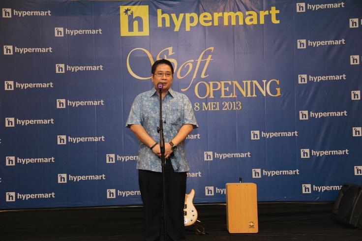Pembukaan Hypermart Jakabaring Palembang 8 Mei 2013