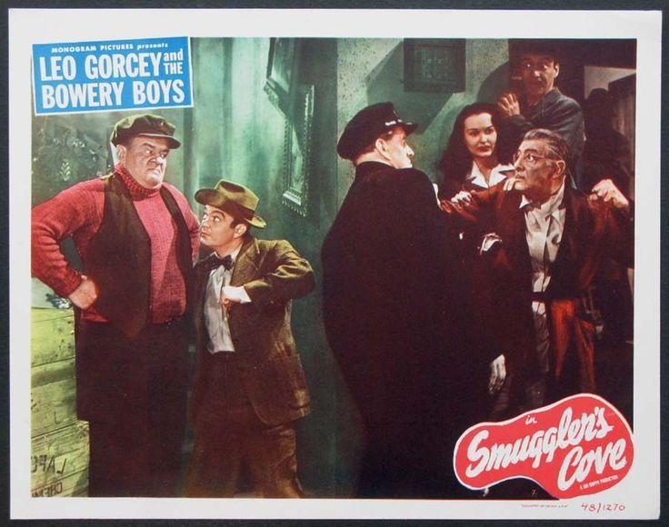 SMUGGLER'S COVE BOWERY BOYS LEO GORCEY 1948 SCENE CARD