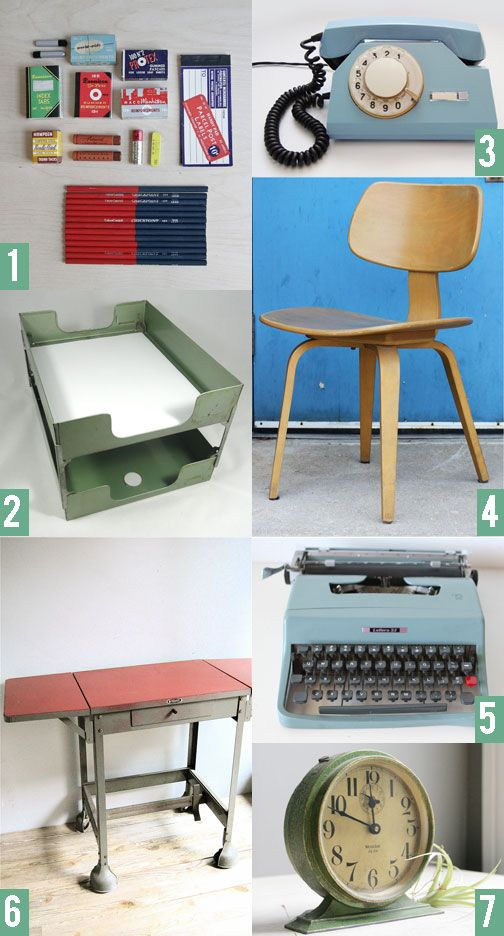 17 best vintage office supplies images on Pinterest Vintage