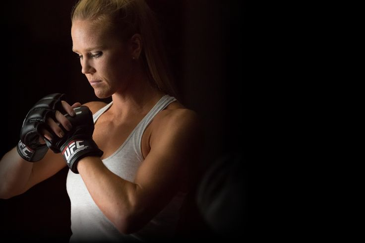 UFC Women's Bantamweight Champion Holly Holm now with Slider Revolution as news header on her official website