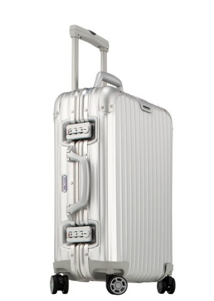 This minimalist-style Rimowa holdall is practically industrial strength, $980