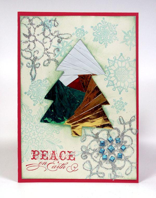 Для, открытки айрис фолдинг на рождество