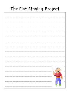 second grade writing paper template
