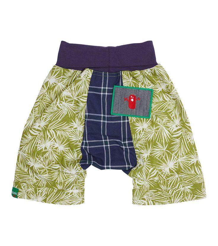 Jungle Fever Short, Oishi-m Clothing for kids, Spring  2017, www.oishi-m.com