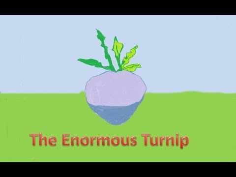 The enormous turnip - A song for children - YouTube