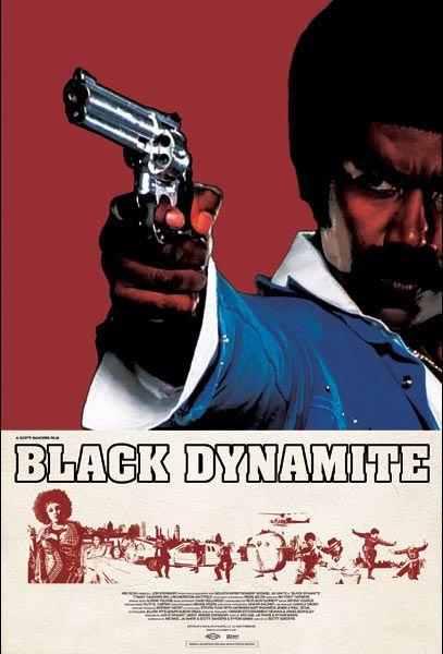 Michael Jai White as Black Dynamite. Dy-no-mite DY-NO-MITE!!!