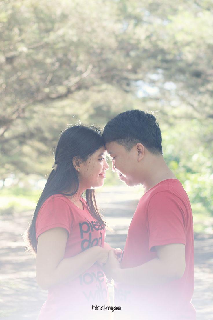 "ROMANCE ""Ivoe & Riefky"" #beforemarriage #red #outdoor #prewedding #sweet #blackrosepictures #blackroseconcept"