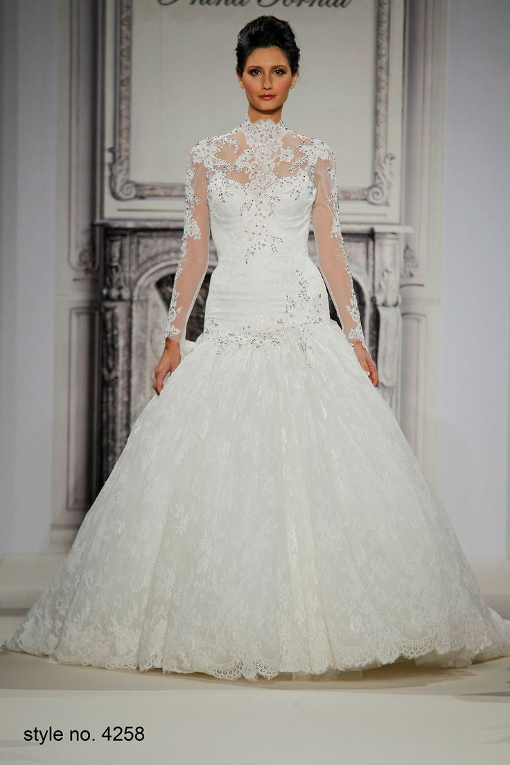 335 best images about pnina tornai on pinterest for Kleinfeld wedding dresses with sleeves