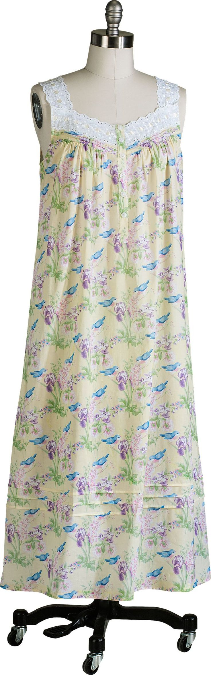 Lanz Bluebirds Nightgown Take an Extra 30% Off (New Price Will Show In Your Cart!)