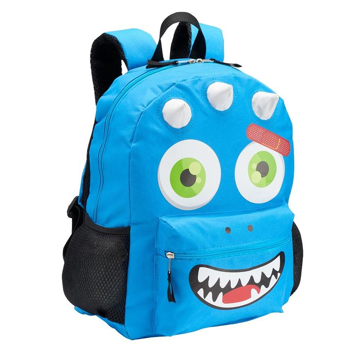 Kids Silly Monster Backpack, Multicolor