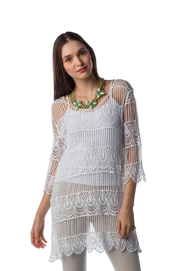 1522116010, WHITE, DRESS  ,ΦΟΡΕΜΑ