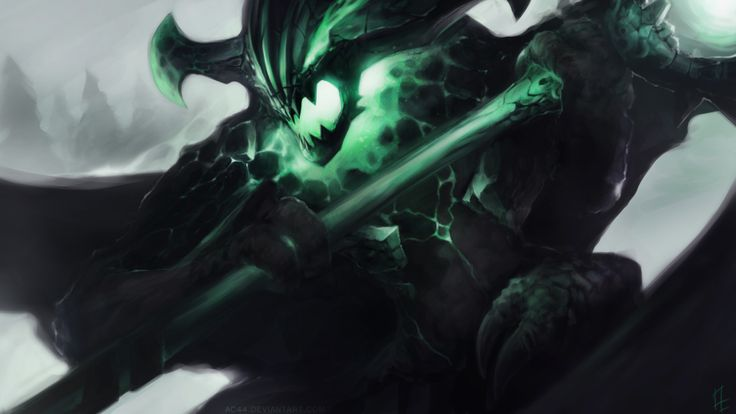 Stylish outworld devourer dota 2 art 82 HD Anime Wallpaper Wallpaper