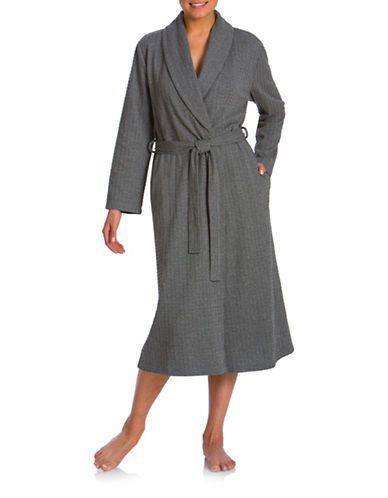 JASMINE ROSEShawl Collar Wrap Robe