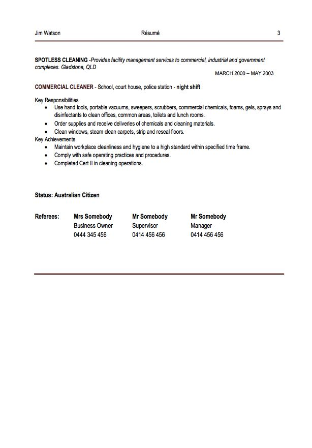 Office Cleaner Resume Example - http\/\/resumesdesign\/office - house cleaner resume