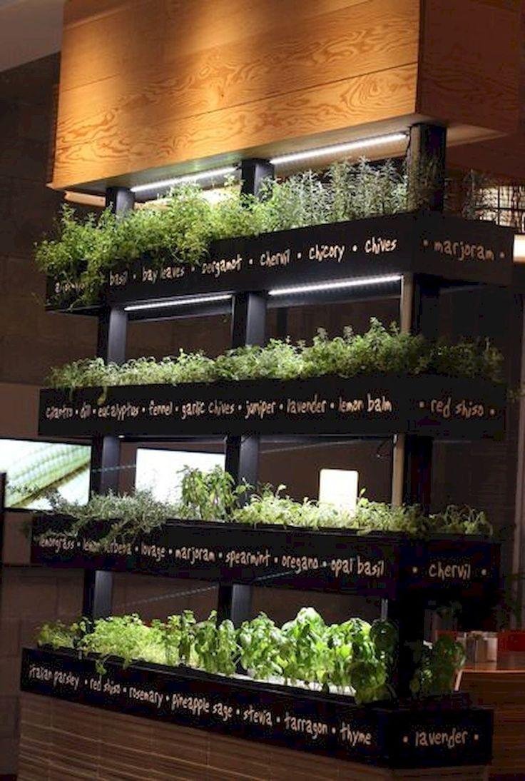 Cool 60 Easy To Try Herb Garden Indoor Ideas https