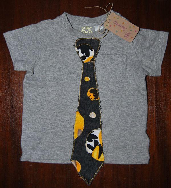 Camisetas - Corbata círculos amarillos