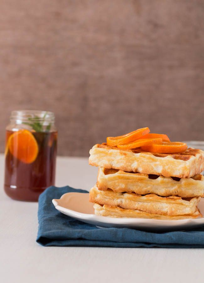 A quick and easy Classic Waffles recipes for a fantastic brunch. Come check it out - Recipes From A Pantry.