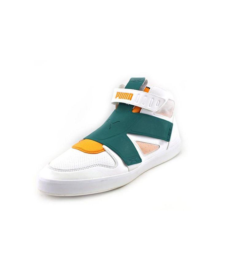 PUMA PUMA EL REY FUTURE MEN  ROUND TOE CANVAS WHITE SNEAKERS'. #puma #shoes #sneakers