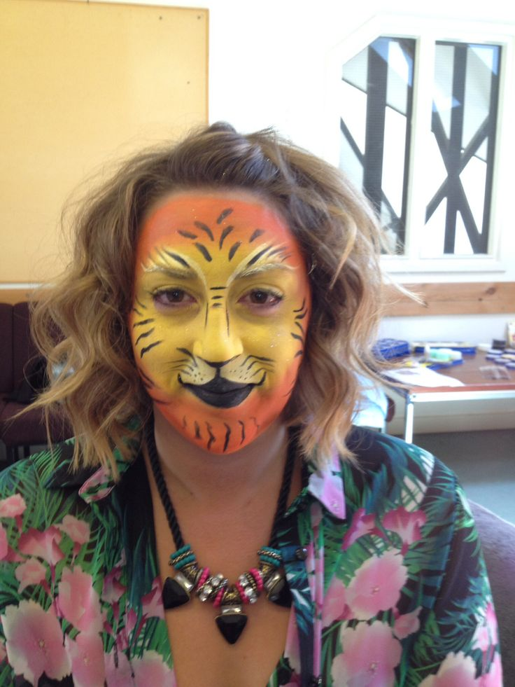 Face painting by Alicia sandeman
