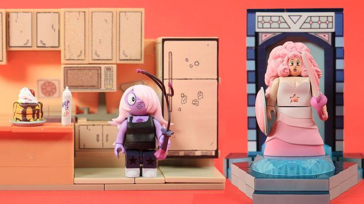 Steven Universe Steven's Kitchen and Temple Door Warp Pad | McFarlane Toys Review & Speed Build