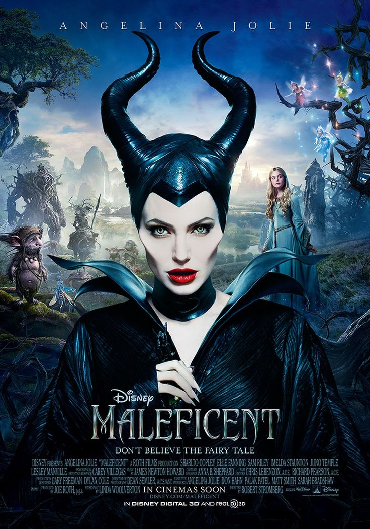 Maleficent is the story of Sleeping Beauty told from Maleficent's perspective!!  I loved this film, it was brilliant!!! ❤️