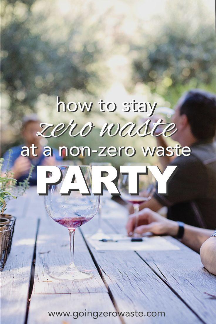 How to Stay Zero Waste at a Non-Zero Waste Party – Nicole Goodman