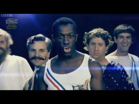 Groovy Greeks from Horrible Histories Olympics -  Flame (High Quality)