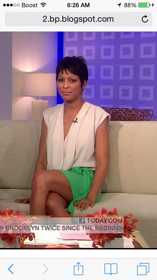 "Tamron Hall - NBC ""Today Show"" News correspondent"