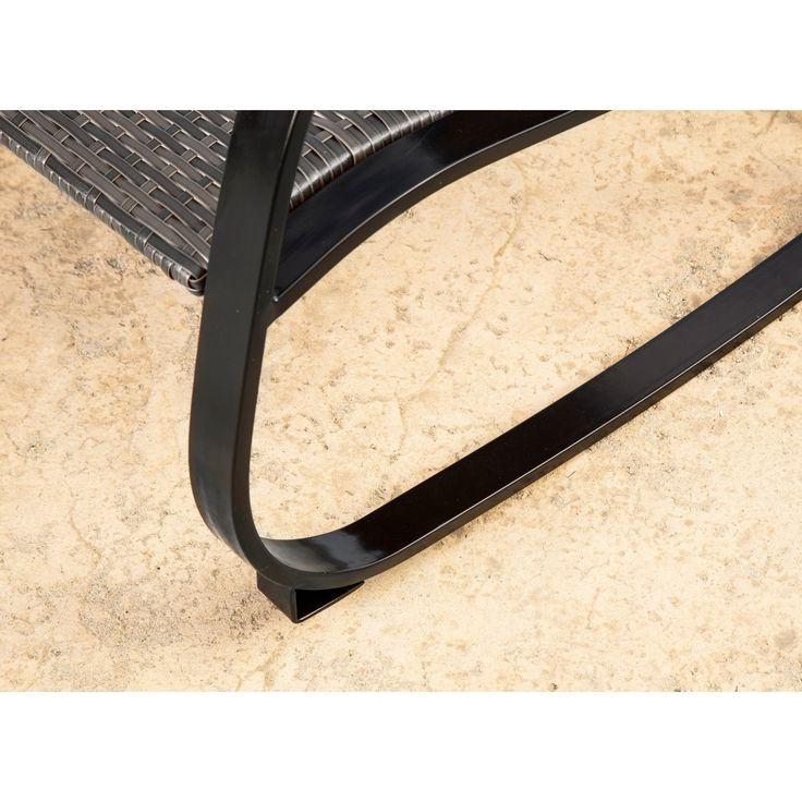 Abbyson Gabriela Outdoor Wicker Rocking Chair , Patio Furniture