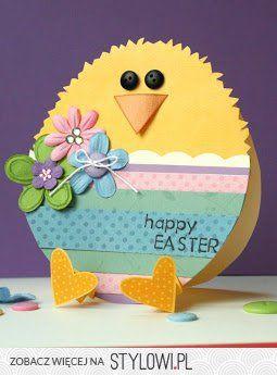 DIY Ostern, Easter, Wielkanoc. Ostereier, pisanki, easter eggs. Dekoration, decoration, dekoracja. Karte. Card. Küken.