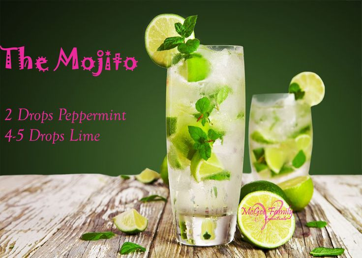 Have a Mojito to get you pumped for the weekend!