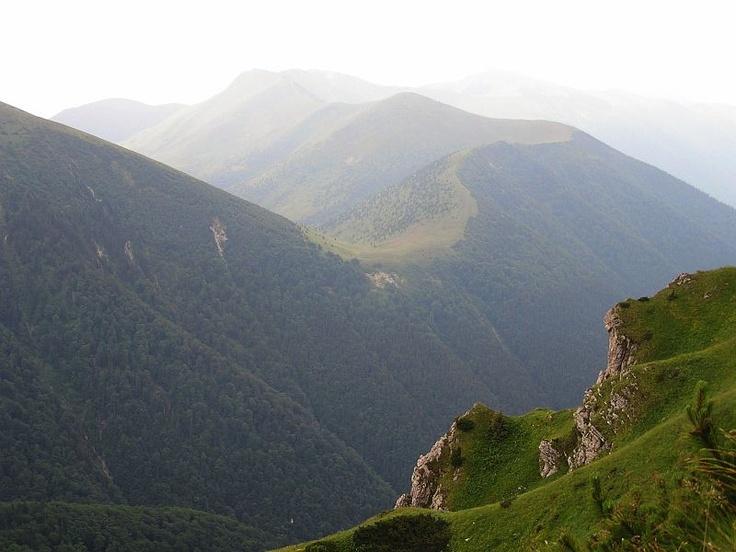 Malá Fatra from Rozsutec.