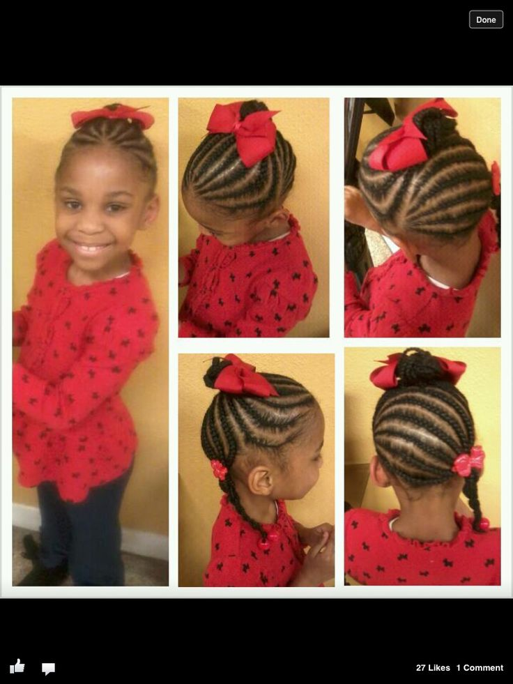 Pleasing 1000 Images About Natural Hair Styles For Little Girls On Hairstyles For Women Draintrainus