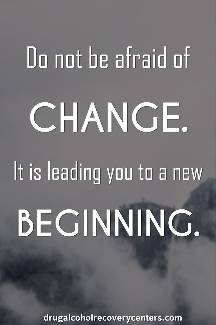 Change leads you to a new beginning. Follow me https
