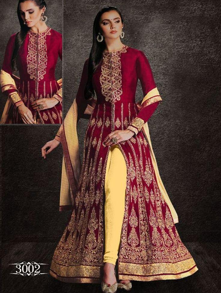 Kameez Pakistani Anarkali Bollywood Indian Designer Suit Ethnic Salwar Dress New #TanishiFashion