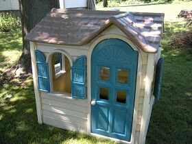 My dog is huge so I want to find one of these and spray paint it to make a dog house for Sadie girl.