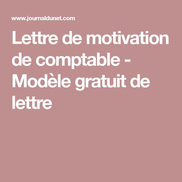 lettre de motivation de comptable