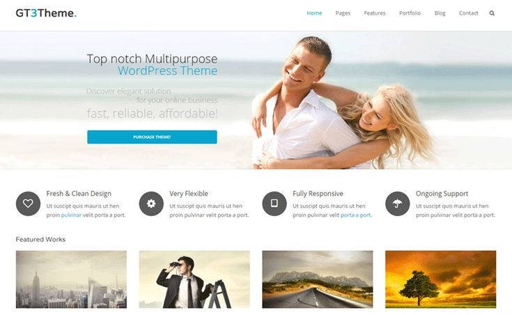 GT3 is a free business WordPress theme developed by the guys at GT3 Themes. This beautiful theme is suitable for creating either a business website, a gorgeous portfolio website or a simply a blog. Progress bar, message boxes, dividers, promo text, and many other useful features are included in this WordPress theme to help you […]