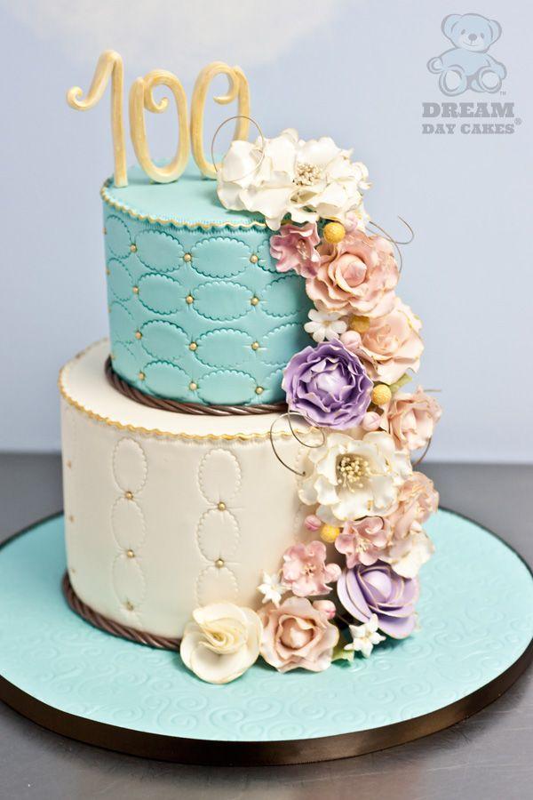 Bez Tych Kvetov Respmenej Ale Poschodia Su Krasne Spravene Flower Cake