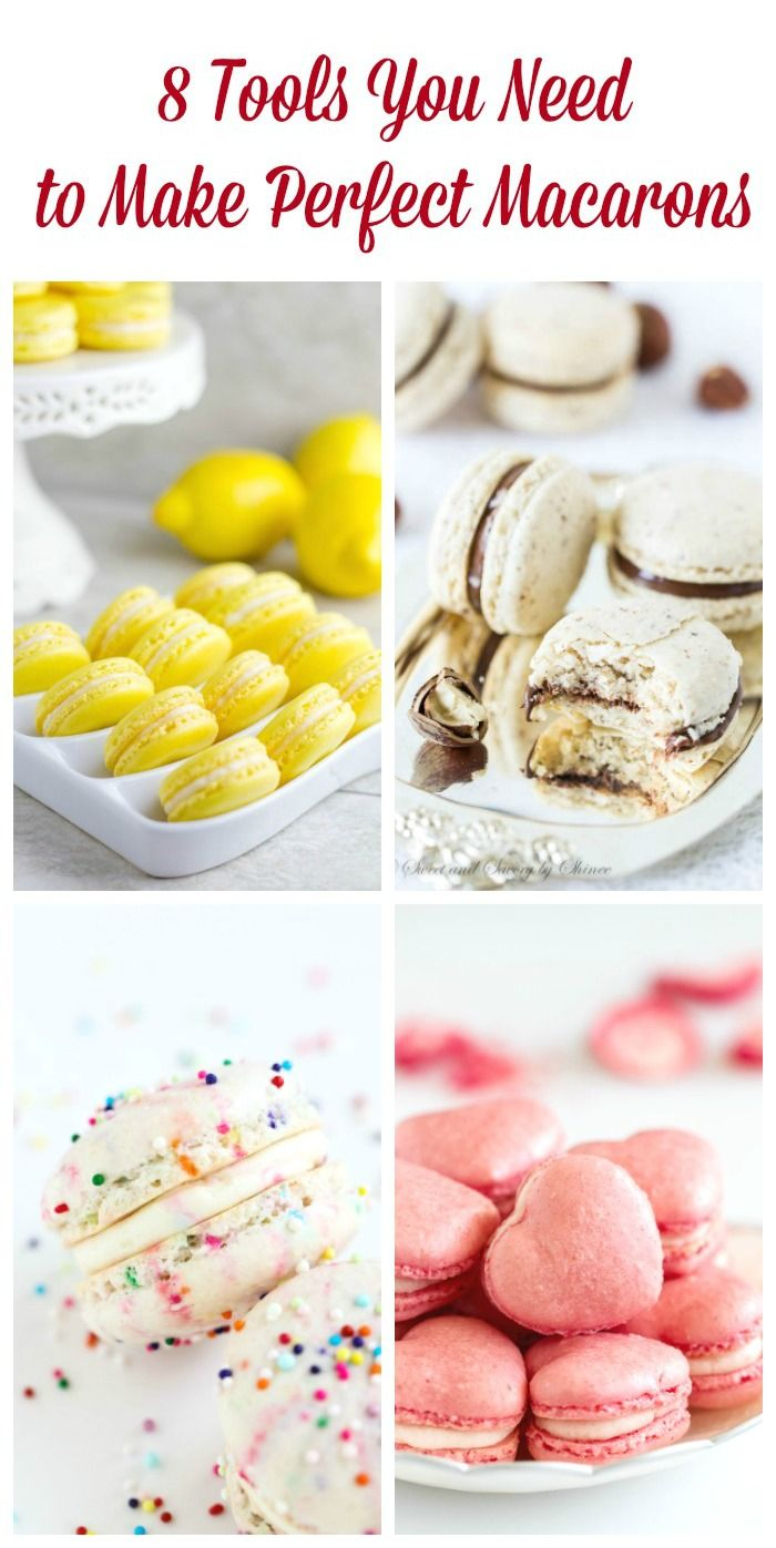 Simple kitchen tools to make perfect macarons! So, you're serious about learning to make perfect macarons? The following 8 tools will help you get there.