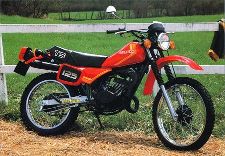 Suzuki TS125ER, solid bike.